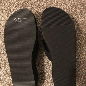 Calvin Klein Shoes - NWOT Calvin Klein Wedge Flip-Flops